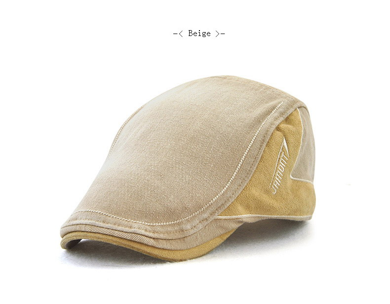 Compre JAMONT Denim Gorras Gorras Bordado Sombrero Plano Hombre ... 44c2f6016eb