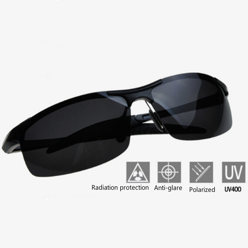 Professional Aluminum Polarized Sunglasses Sports Goggles Glasses Fishing Eyeswears UV400 lunettes polarisantes peche Outdoor цены