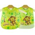 Baberos de bebé de silicona resistente al agua de alimentación new diseño toalla de la saliva del recién nacido al por mayor de la historieta delantales baberos
