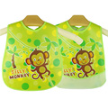 New Design Baby Bibs Waterproof Silicone Feeding Baby Saliva Towel Wholesale Newborn Cartoon Aprons Baby Bibs