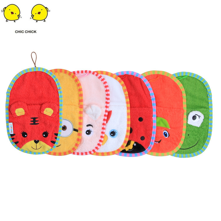 1PairBath Glove Shower Wash Cloth Body Massage Toddler Boy Bathing Carton in Bath Toy from Toys Hobbies