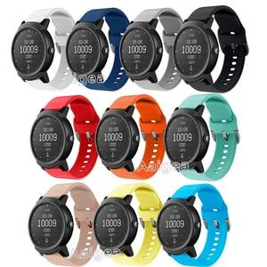 20mm Soft Silicone Watch Strap