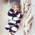 Otoño 100 cm de Algodón Recién Nacido Del Bebé Ropa Del Bebé Del Mameluco Próximo Roupa s Recién Nacido de Los Bebés Traje de Invierno Ropa de Bebé ropa