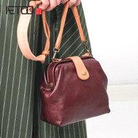 AETOO Mini Leather Handbags Cowhide Shoulder Bag 2017 New Fashion Korean Version Of The Summer Wild