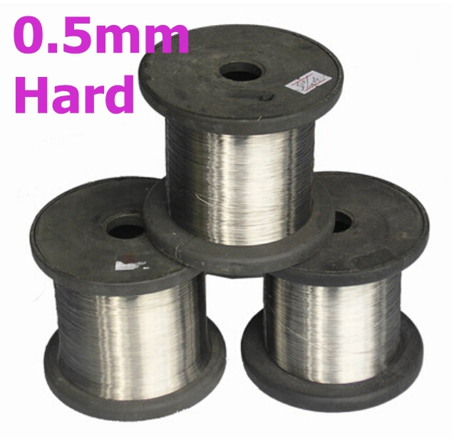 0.5mm SS304 Stainless Steel Bright Smooth Wire Hard Condition DIY Material 304 diameter 12mm stainless steel solid round bar bright smooth surface diy hardware round rods pole
