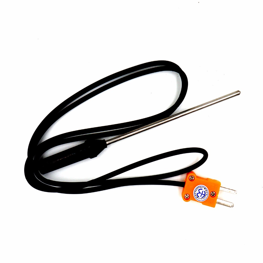 Stainless Steel High Temperature Mayitr K type Thermocouple 0~400C ...