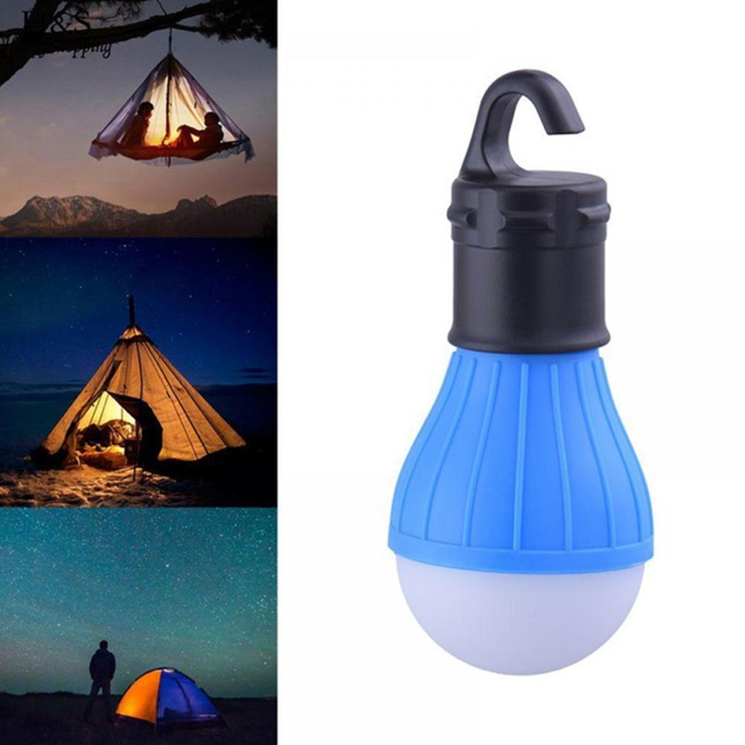 Mini Portable Lantern Tent Light LED Bulb Emergency Lamp Waterproof Hanging Hook Flashlight For Camping 4 Colors|Tent Accessories| |  -