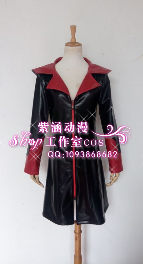 Devil May Cry 5 Cosplay Jacket Game DMC Dante Hooded Zipper Coat Men outwear Coat Dante Vergil wind coat