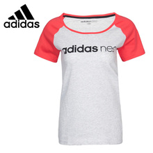Original New Arrival 2017 Adidas NEO Label W CE NEO RGLN T Women's T-shirts short sleeve Sportswear