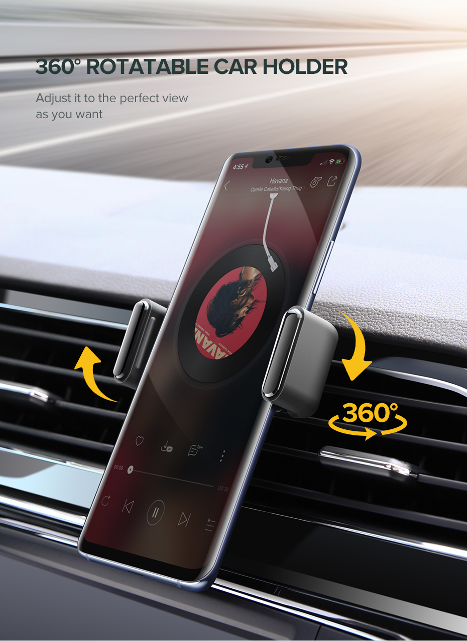 Ugreen Car Phone Holder for Your Mobile Phone Holder Stand for iPhone 11 8 Air Vent Mount Cell Phone Support in Car Phone Stand HTB1vBiPe8Cw3KVjSZR0q6zcUpXaf car holder for phone