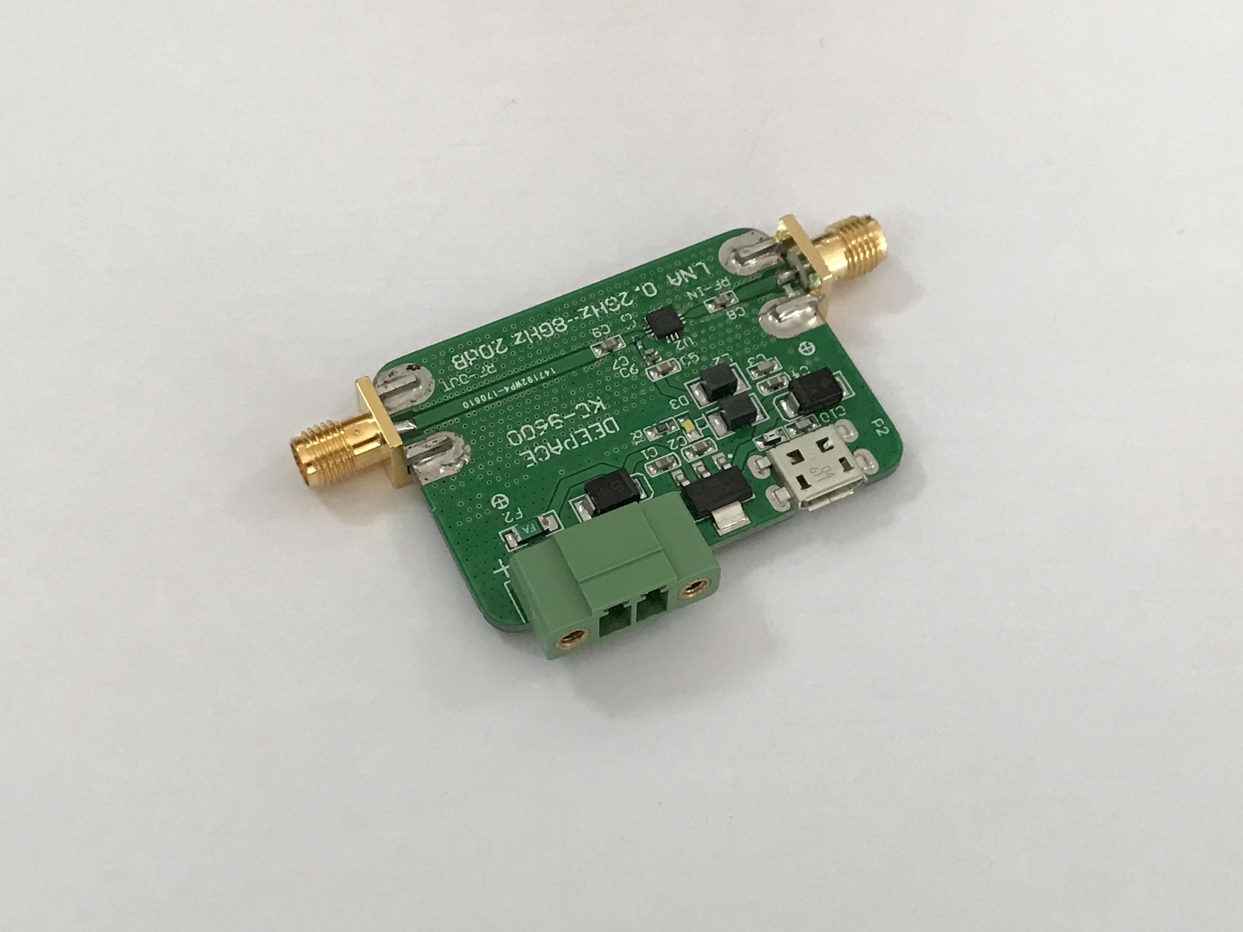 Pour amplificateur à faible bruit RF amplificateur à faible bruit 6 GHz préamplificateur LNA 20dB