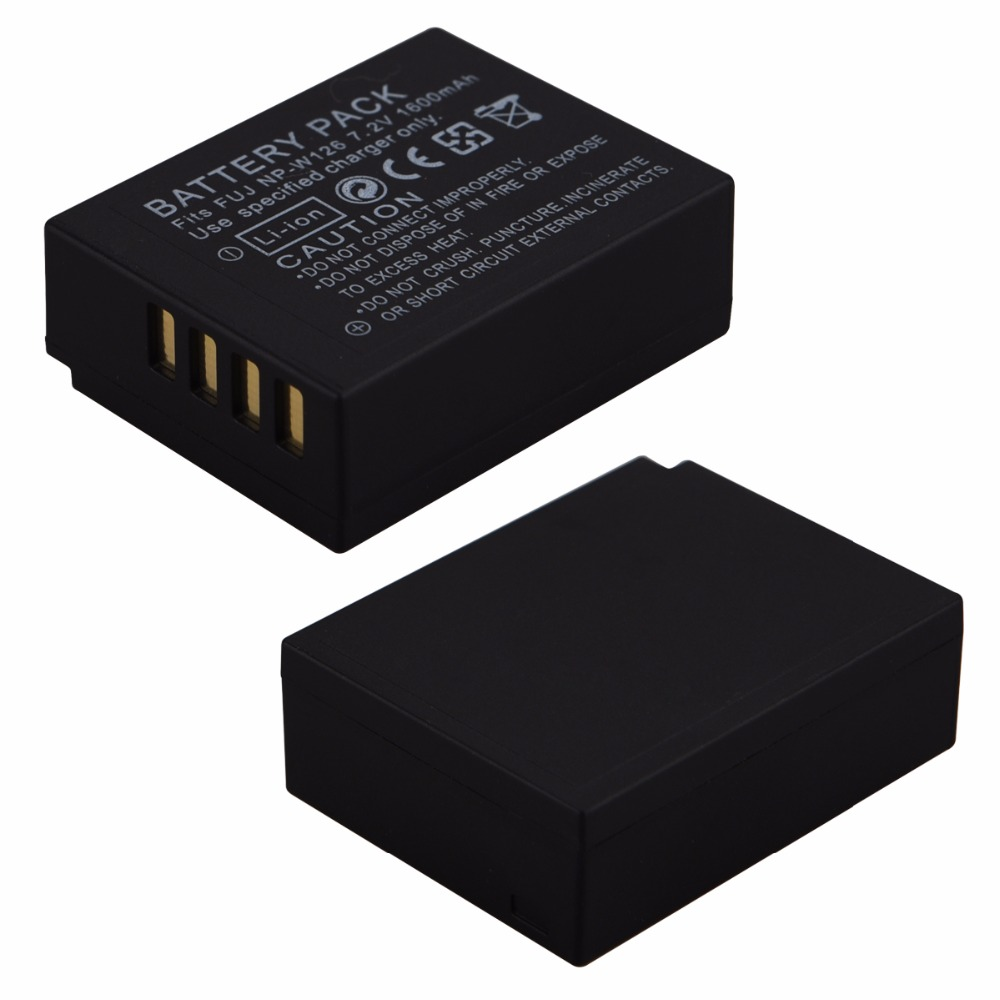 1pc 1600mAh NP-W126 NP W126 NPW126 Rechargeable Battery for Fujifilm Fuji HS30EXR HS33EXR HS50EXR X-A1 X-E1 X-E2 X-M1 X-Pro 1
