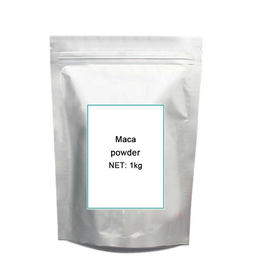 1KG High quality Peru Black Maca extract pow-der 4:1/Peru Maca /Lepidium meyenii FREE SHIPPING 1kg high quality peru black maca extract pow der 4 1 peru maca lepidium meyenii free shipping
