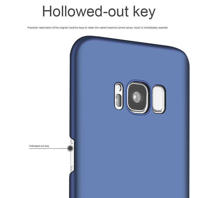 マット電話ケース S5 S6 S7 エッジ S8 プラス J3 J5 J7 A3 A5 A7 2015 2016 2017 注 3 4 5 フルプラスチックカバー