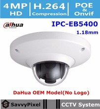 DaHua Security IP Camera Fisheye IPC-EB5400 4MP HD WDR Panorama 360 Dome Network CCTV Camera Built-in Mic & SD card slot No Logo