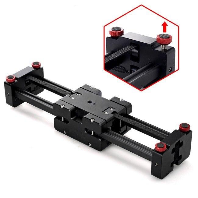1/4'' & 3/8'' Viltrox V2-500 Camera Track Dolly Slider Video Stabilizer for Camcorder Camera Video