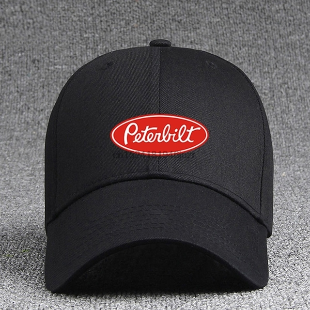 288cb72adab Peterbilt Logo Tape Baseball Hats Adjustable Hip Hop Couple Cap-in ...