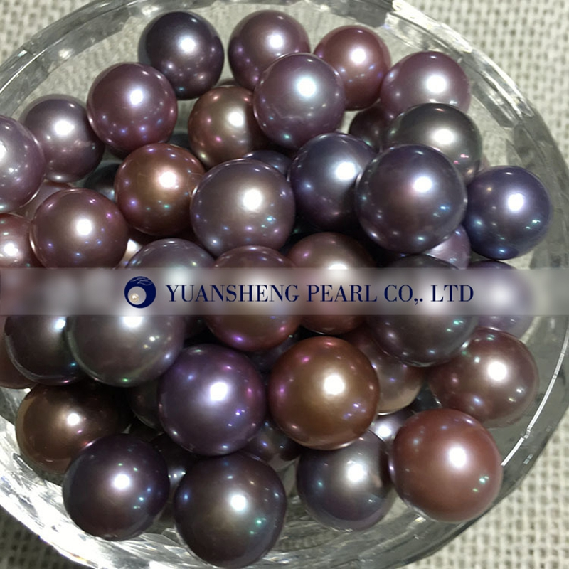 [YS] 10-12mm AAAA Perfect Round High Luster Freshwater Loose Pearls Edison Pearl In Loose все цены