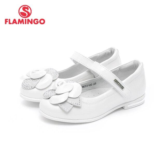QWEST/брендовые кожаные стельки, летняя детская обувь на плоской подошве с застежкой-липучкой, размеры 32-37, детские сандалии для девочек, 81S-JSD-0794