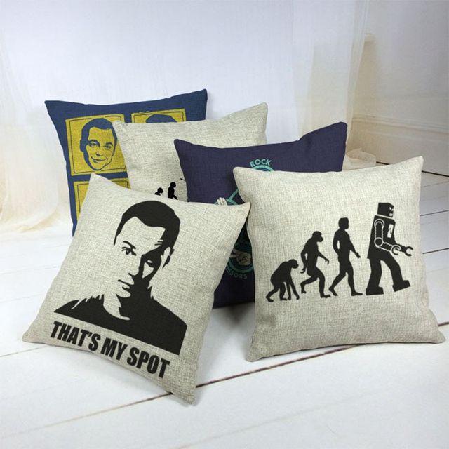 The Bang Theory Car Decorative Throw Pillow Case Cushion Cover Sofa Home Decor