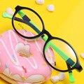 Ofir nova crianças óculos de armação tr90 armações prescrição quadros de alta qualidade meninos meninas silicone yf-101