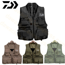 2019 Dawa Reliective Fishing Vest Quick Dry Fish Breathable Jacket Outdoor Sport Survival Reflected Light Waistcoat