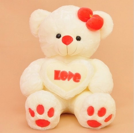 Free shipping 70cm Teddy bear plush toy Love bear soft toy Gift for lover  Christmas gift-in Movies & TV from Toys & Hobbies on Aliexpress.com |  Alibaba ...