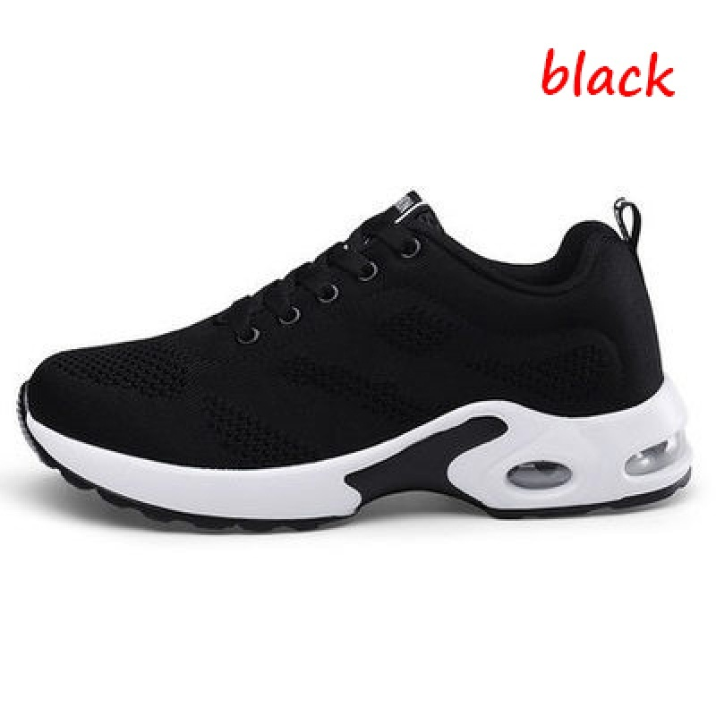 Fashion Women Lightweight Sneakers Running Shoes Outdoor Sports Shoes Breathable Mesh Comfort Running Shoes Air Cushion