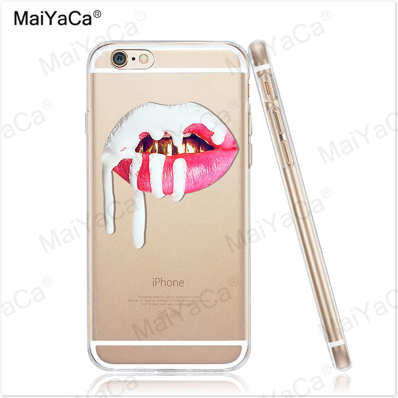 MaiYaCa phone cases Graffiti Girl Kylie Lips Soft Transparent TPU - Mobile Phone Accessories and Parts - Photo 4