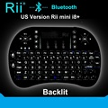 Rii mini i8 + k08 + teclado bluetooth sem fio com touchpad mouse teclado retroiluminado gamer para pc portátil htpc android/smart tv box