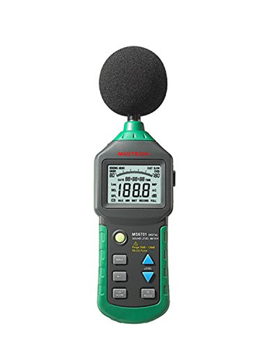 Selling NKTECH 30-130dB LCD Digital Sound Level Decibel Meter Logger Tester Noise Measurement Time Display Setup NKD2 VS MS6701 цена