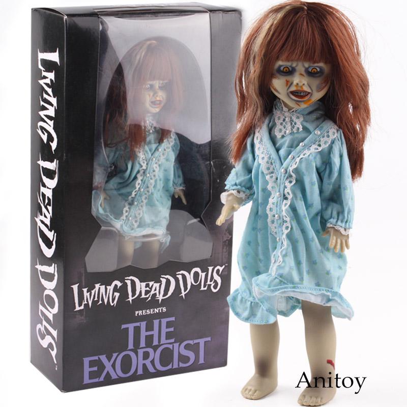 цена на MEZCO Living Dead Dolls Presents The Exorcist Horror Movie Action Figures PVC Collectible Model Toy Halloween Gift