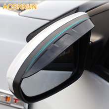 For 2009-2013 Chevrolet Cruze hatchback sedan Rearview mirror rain gear shield for Cruze auto accessories
