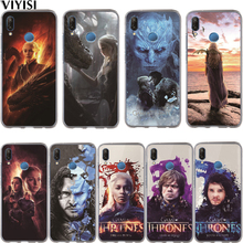 цена Game Thrones Jon Snow Tyrion Night King Lannister Phone Case Etui For Huawei Honor 10 Lite 9 8 7A 7C 7X 7 6A Soft Silicone Cover