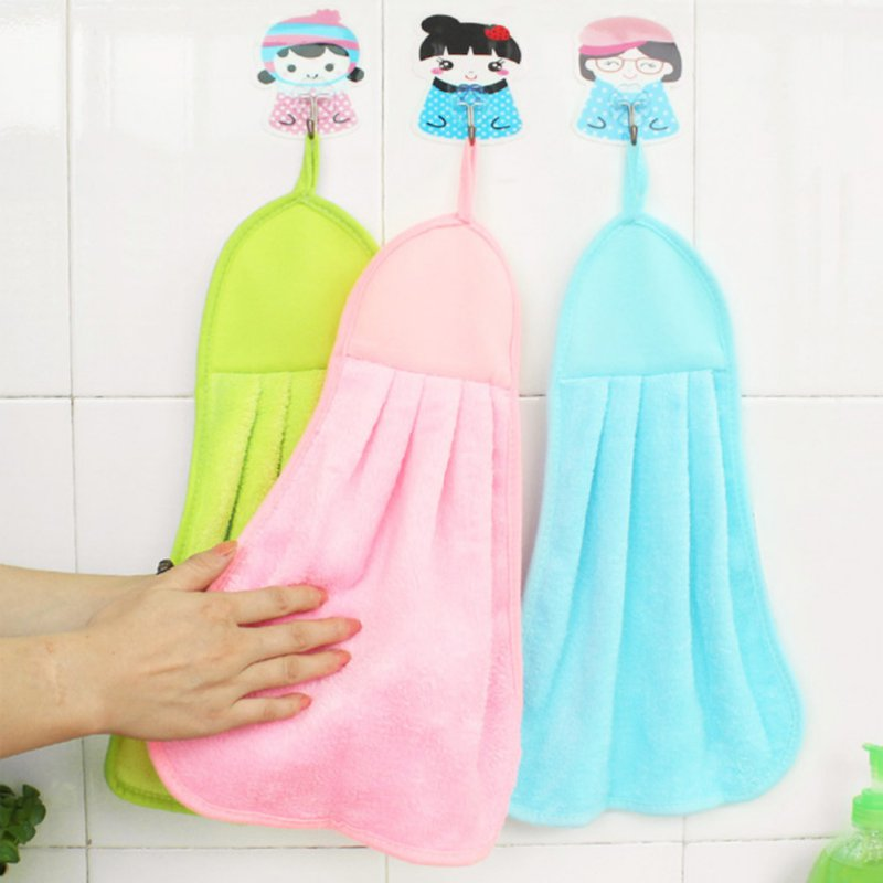 2017 Super Soft Coral Fleece Kid Child Towel Cartoon Baby Wipe Sweat Hung Towel Towel