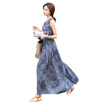 Fashion Printed Floral Tank Maternity Dresses Clothes for Pregnant Women Pregnancy Long Dress Vestidos Para Gravidas Clothing