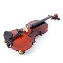 MrY 1/8 Acoustic Solid Wood Violin Case Bow Rosin Strings Shoulder Rest Tuner Natural 1 8 kids children natural acoustic violin fiddle with case bow rosin musical instrument gifts