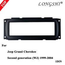 1DIN Автомобильная установка рамка панель DVD Фасции Аудио рамка для Jeep Grand Cherokee 99-04(WJ) Chrysler 300M Caravan 01-07 Neon Voyager