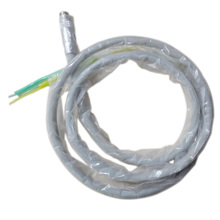 Free Shipping Dental 4 Holes Handpiece Hose Tube with Connector for High Speed Handpiece High Quality