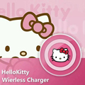 Hello Kitty Qi Wireless Charger Charging Pad for Samsung Galaxy S7 / S6 / S6 Edge Esge+ Note 5 7