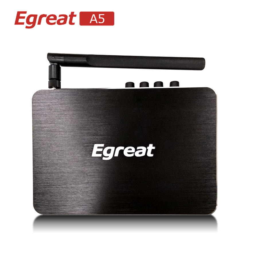 Egreat A5 Android TV Box Professionnel 4 k BD Menu HDD Media Player 4 k HDR 2g/8g 802.11AC WIFI 1000 m LAN