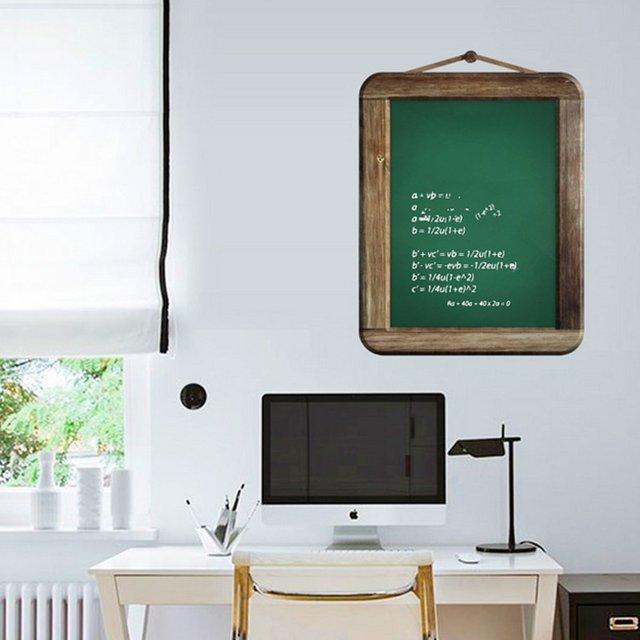 home study room pvc blackboard wall decal sticker vinyl art murals decals home