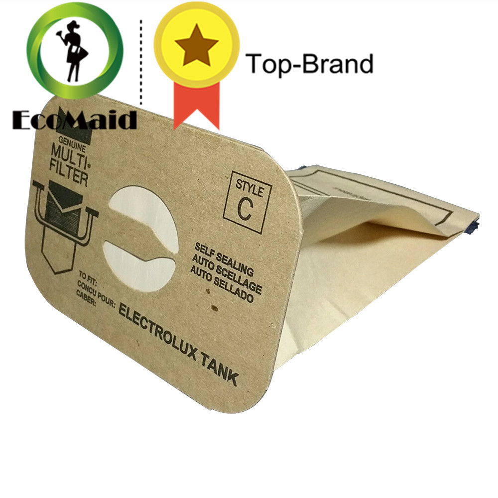 Dust Bag for Electrolux Style C DVC Vacuum Cleaner Bags Replacement Accessories Rubbish Bag 1pc rekam xproof dvc 380 цифровая видеокамера