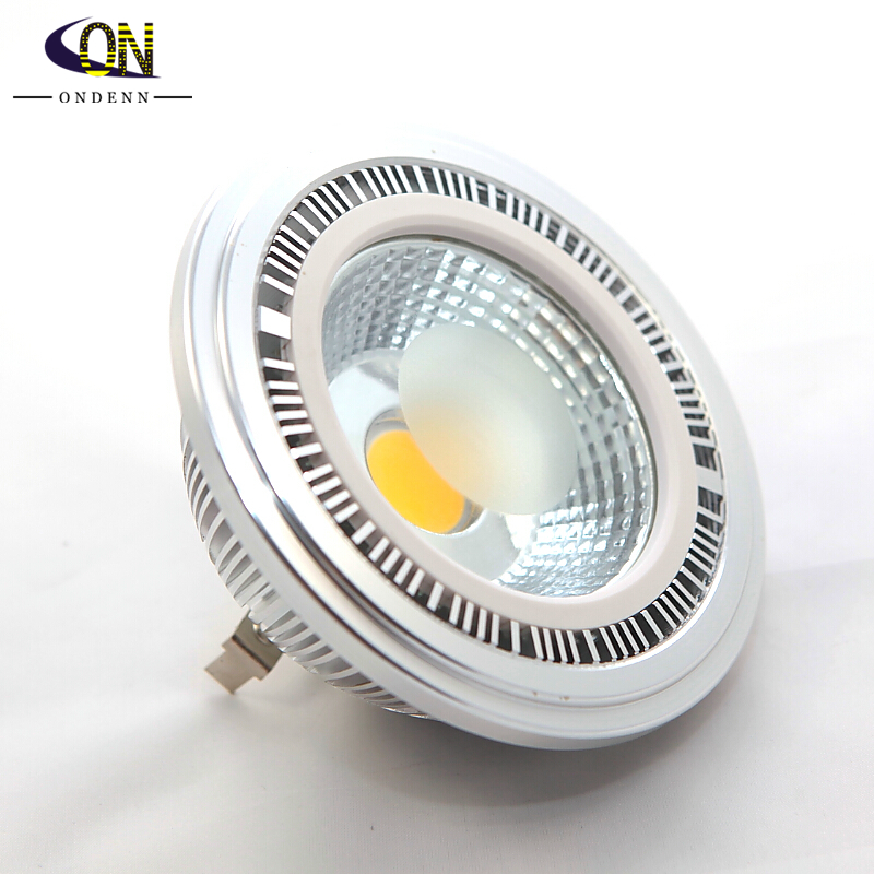 Dimmable 15w Cob Led Ar111 Light Gu10 Led Spotlight Qr111