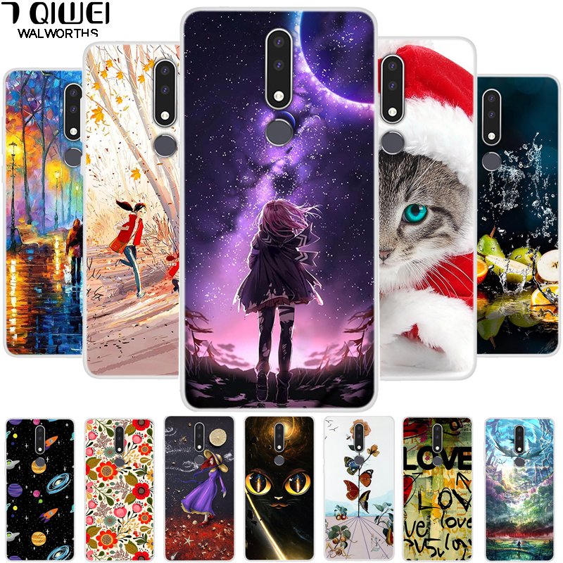 Phone Case For <font><b>Nokia</b></font> <font><b>3.1</b></font> Plus Case Silicone Soft TPU <font><b>Back</b></font> <font><b>Cover</b></font> For Nokia3.1 Funda For <font><b>Nokia</b></font> <font><b>3.1</b></font> Plus 2018 Case <font><b>3.1</b></font> + Coque Para image