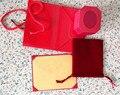 Caso Caixa de Jóias de moda Verde Marca Anéis Pulseira Exibição Pacote Conjunto Caixa de Presente (Saco, Plugue Poeira, Caixa) SET103