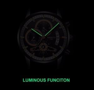 Image 4 - NIBOSI Mens Watches Top Luxury Brand Men Gold Watch Men Relogio Masculino Military Army Analog Quartz Wristwatch Montre Homme