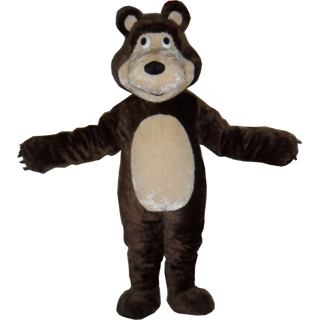 Martha Bear Mascot Costume Dark Brown Martha Bear Cartoon Costumes Customize Cosplay Costume Anime Kits Mascot Mascotte Kit Suit