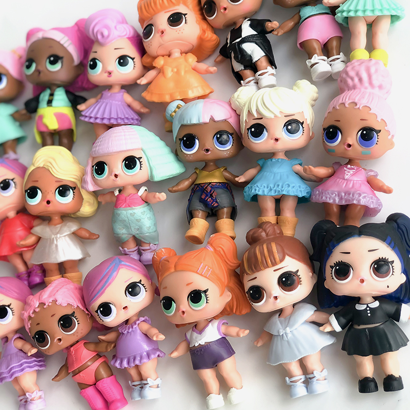 цена на FGHGF LOL Doll series 1&2&3 with clothes&Shoes LOL Original Collection Girl's Dolls Kids Baby Girl Toys for children gift 072101