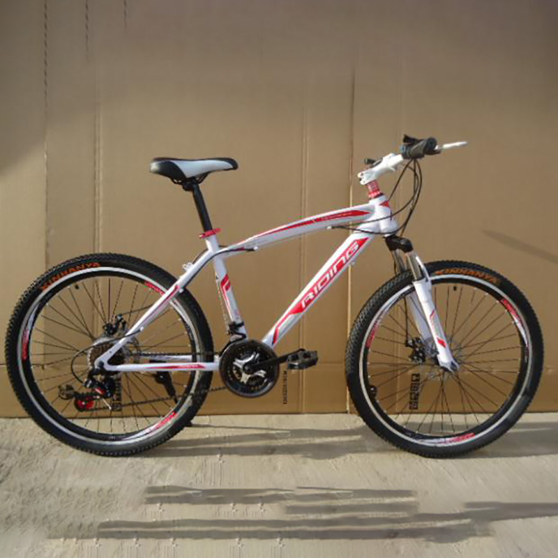 High Quality Carbon Steel Material 21 Speed 26 Inch Spring Fork Cycling Equipmen Manufacturer Mountain Bike